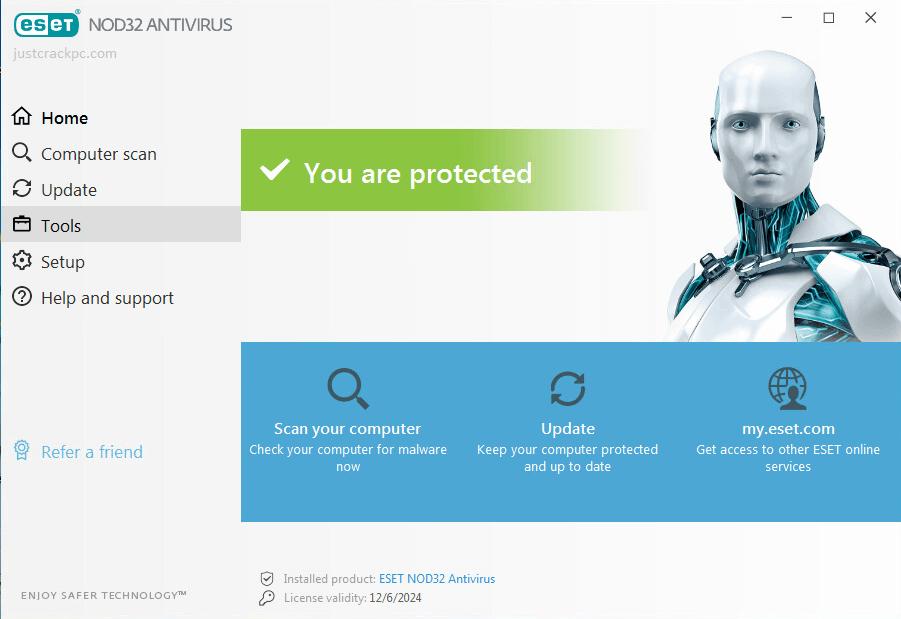 ESET NOD32 Antivirus 14.2.19.0 Full Crack With License Key Free Download