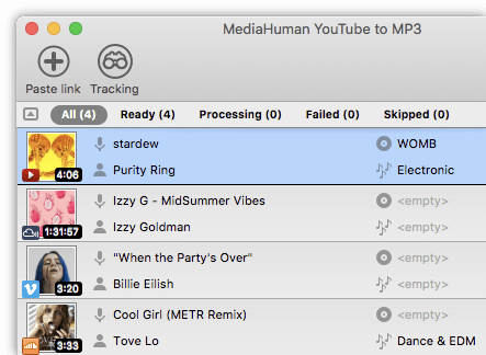 MediaHuman YouTube to MP3 3.9.9.57 (1506) With Crack