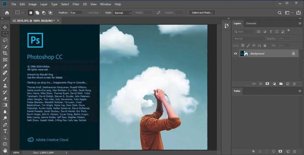 Adobe Photoshop CC Latest v22.5.0.384 (x64) with Crack [2021]