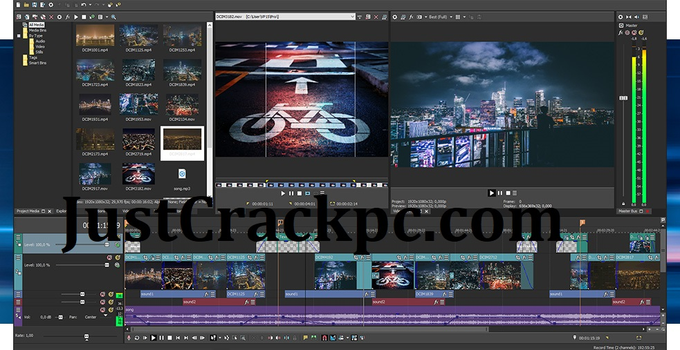 Sony Vegas Pro 18 Crack With Serial Number Free Download 2021